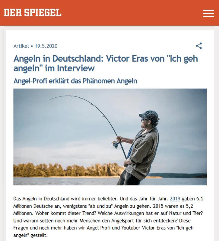 Interview Victor Eras auf Spiegel online