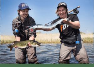 Fliegenfischen Kurs Werfen guiding
